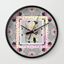 Eye Lashes Wall Clock