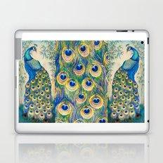 Blue Peacocks Laptop & iPad Skin