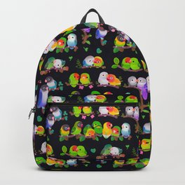 Lovebird - dark Backpack