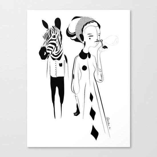 Breathe me - Emilie Record Canvas Print