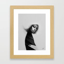 Portrait of a woman No.3 Framed Art Print