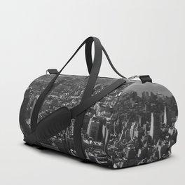 Manhattan Skyline, NY, fine art print, new york city, high quality photo Duffle Bag