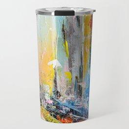 Abstract cityscape 6 Travel Mug