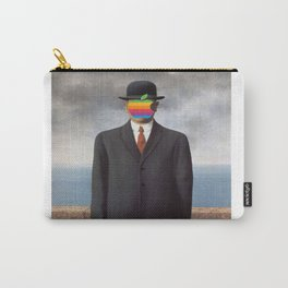 Son of Apple Parody René Magritte Carry-All Pouch