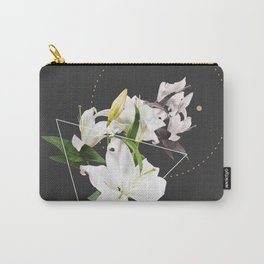 Tropical Flowers & Geometry II Carry-All Pouch