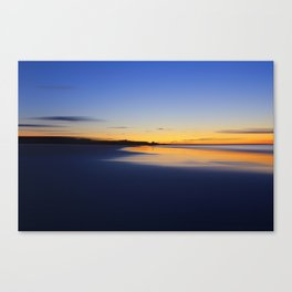 While I walked down to the beach Canvas Print