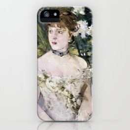 Young Girl in a Ball Gown - Digital Remastered Edition iPhone Case