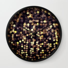 goldgasm Wall Clock