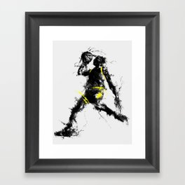Anti gravity Framed Art Print
