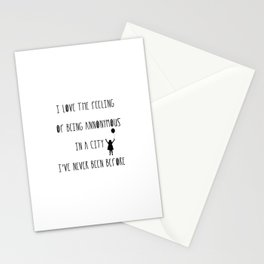 Annonymous Stationery Cards