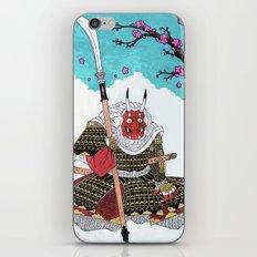 Demon Samurai iPhone & iPod Skin