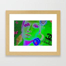 Poptastic Diva Framed Art Print