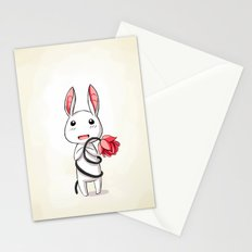 Bunny Flower Stationery Cards