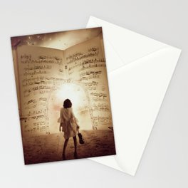 Music Portal Stationery Cards