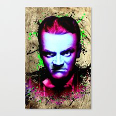 James Cagney, angry Canvas Print