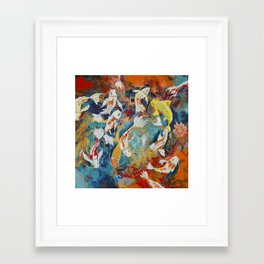 Vibration Framed Art Print
