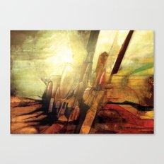 Enough Conflict Canvas Print