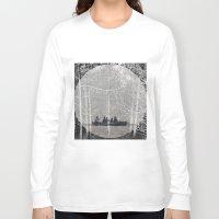 moonrise Long Sleeve T-shirts featuring MOONRISE by Mari