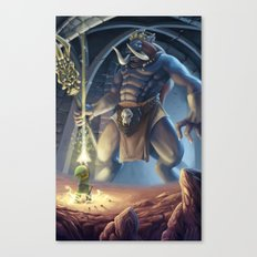 Final Boss Canvas Print