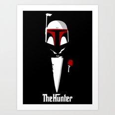 The hunter poster parody Art Print