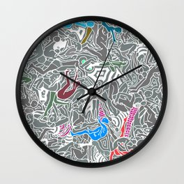 Travel Bodies Wall Clock