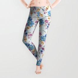 college floral Leggings