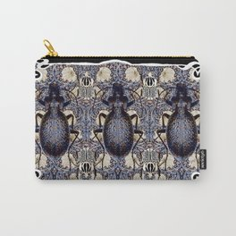 Art Nouveau  Beetles and Pimpernel Carry-All Pouch