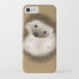 Thorny Hedgehog, Soft Tummy iPhone Case