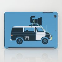 blues brothers iPad Cases featuring The Blues Brothers' Van by Brandon Ortwein
