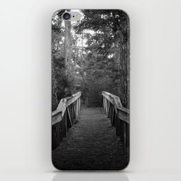 Burn a Bridge iPhone Skin