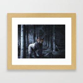 Gorillowl Framed Art Print