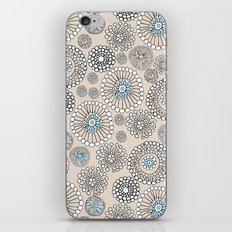 Flower bubble iPhone & iPod Skin