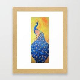 Peacock - The Protector Framed Art Print