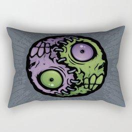 Zombie Yin-Yang Rectangular Pillow