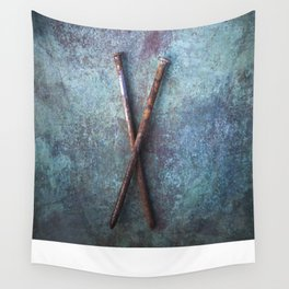 Two Nails II Wall Tapestry