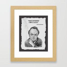 Hitchens Framed Art Print