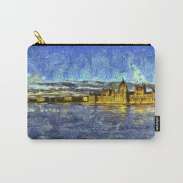 Budapest Vincent Van Gogh Carry-All Pouch