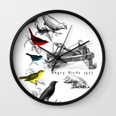 Etude - Angry Birds Wall Clock
