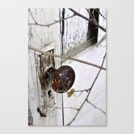Hidden Door Canvas Print
