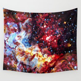 ALTERED Large Magellanic Cloud Wall Tapestry