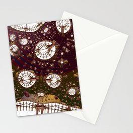 Abstract space of connections Stationery Cards