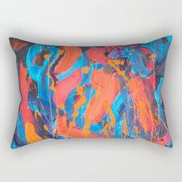 Confused Rectangular Pillow
