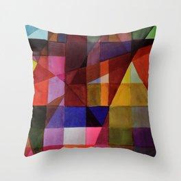 couleurs Throw Pillow