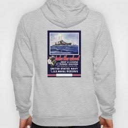 Take The Wheel -- United States Navy Hoody