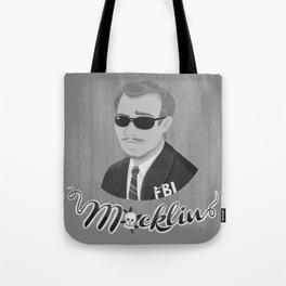 Burt Macklin Tote Bag