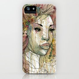 Celestine iPhone Case