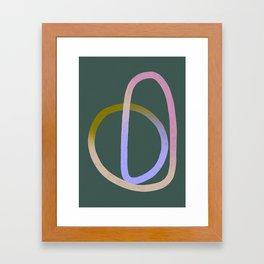 ENDLESS LOVE GREEN Framed Art Print