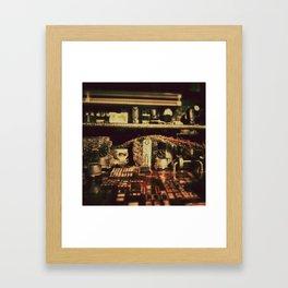 Tiny Cities #1 Framed Art Print