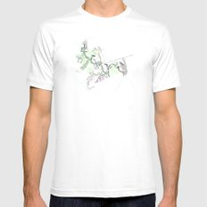 City of Plants Mens Fitted Tee White MEDIUM
