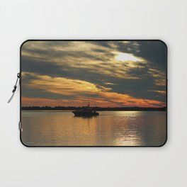 Sunset Over The Water Laptop Sleeve